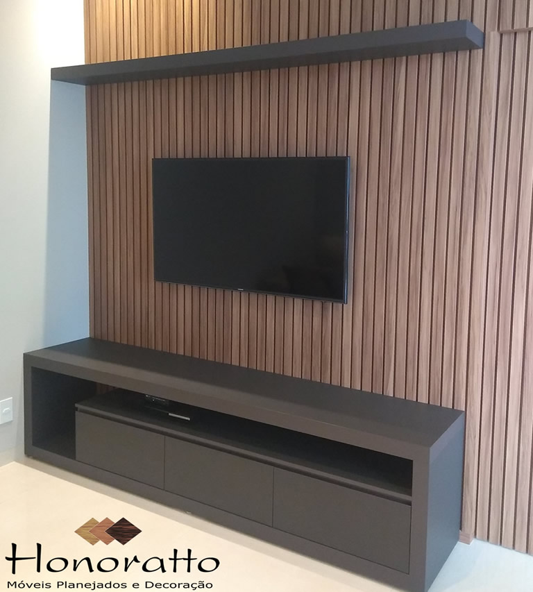Sala Rack Painel TV Honoratto Cacoal